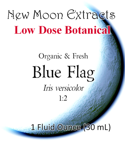 Blue Flag Tincture (Organic, Fresh)