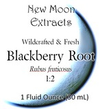 Blackberry Root Tincture (Wildcrafted, Fresh)