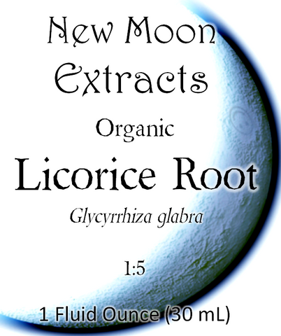 Licorice Root Tincture (Organic)