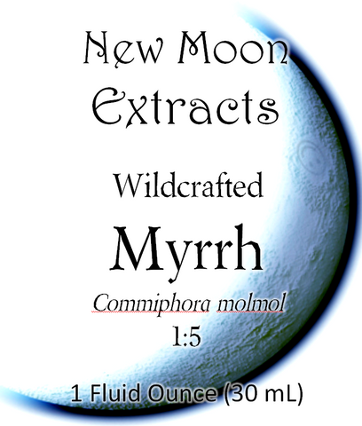 Myrrh Tincture (Wildcrafted)