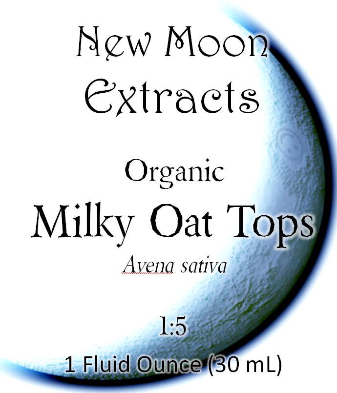 Milky Oats Tincture (Organic)