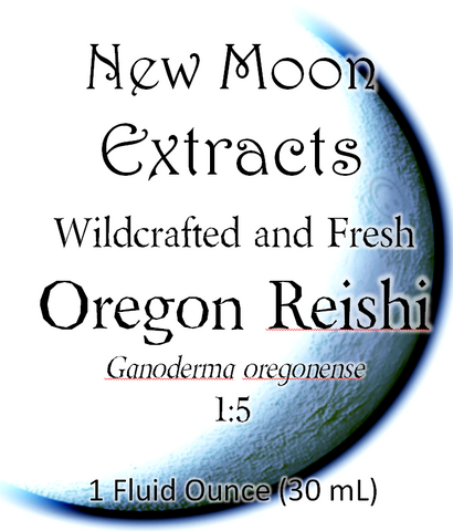 Oregon Reishi Tincture (Wildcrafted, Fresh)
