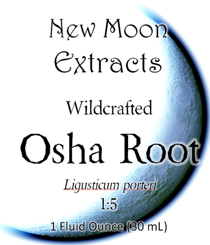 Osha Tincture (Wildcrafted)