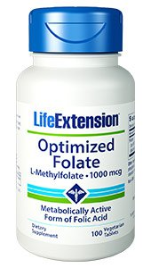 Optimized Folate (L-Methylfolate)