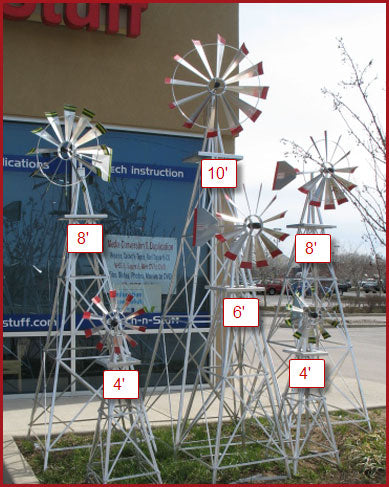 yard and garden decorative windmills