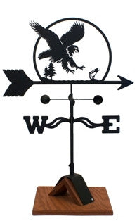 Eagle Weathervane Black Powder Coat