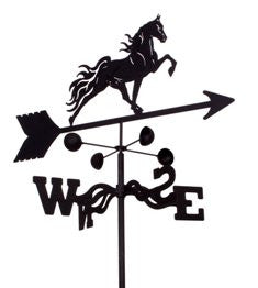 Tennesee Walker Weathervane Black Powder Coat