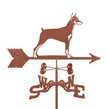Doberman Pincher Weathervane