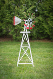 4 foot Premium Aluminum Decorative Garden Windmill