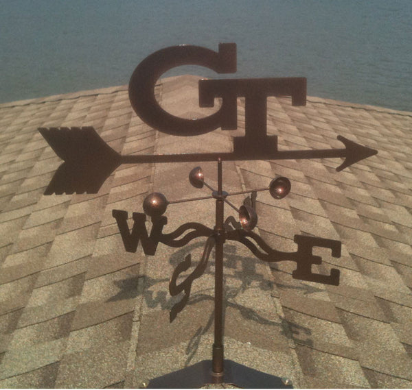 Georgia Tech Yellow Jackets Weathervane