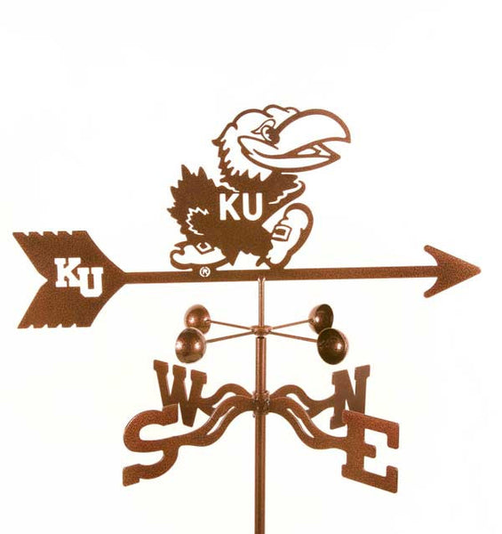 Kansas Jayhawks Weathervane