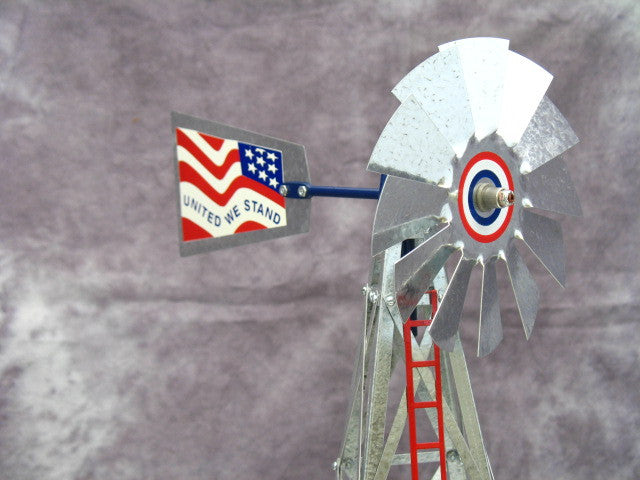 Stars and Stripes 17 inch mini windmill kit