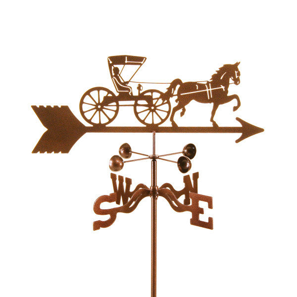 Doctor Horse & Buggy Weathervane