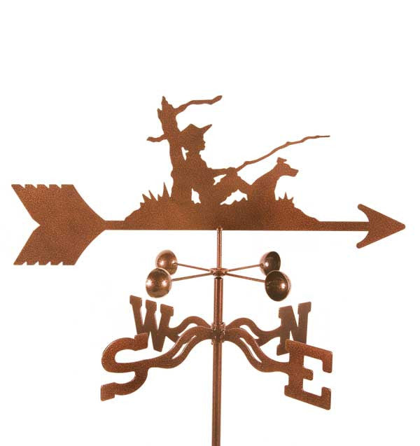 Fisherman Weathervane