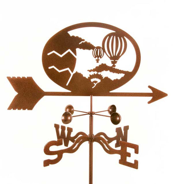 Hot Air Ballons Weathervane