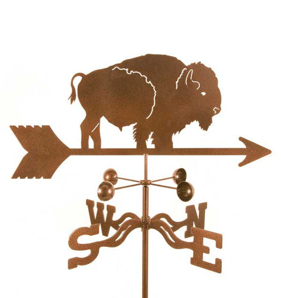 Bison Weathervane