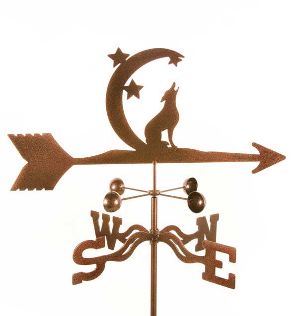 Coyte with Moon Weathervane