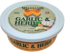 Garlic & Herb Cheese Spread- William's Cheese