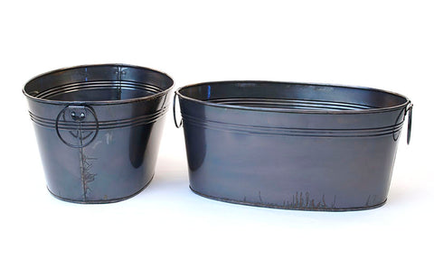 Oval Tub- Patina Finish (LIMITED AVAILABILITY!)