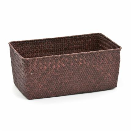 Seagrass Basket, Brown