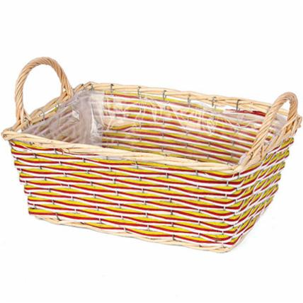 Holiday Stripe Basket