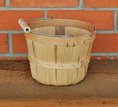 Orchard Peck Basket w/ handle (Natural)