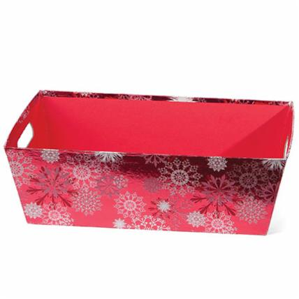 Snowflake (Shiny, red) Market Tray