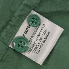 Green Solid Buttondown Oxford Shirt S 1