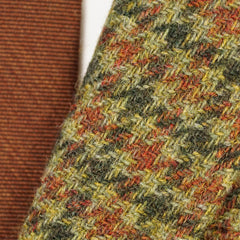 '1818 Fitzgerald' Houndstooth Wool Tweed Unlined Jacket 41 42 L