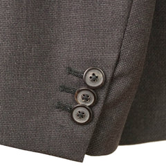 Dark Gray Wool Slim Fit Suit 42 R