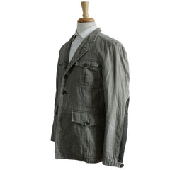 Olive Cotton Military Jacket L 42