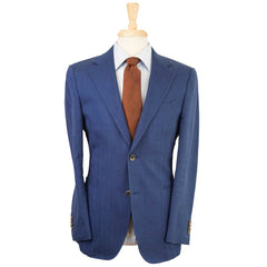 Blue Cotton Patch Pocket Blazer 38 R