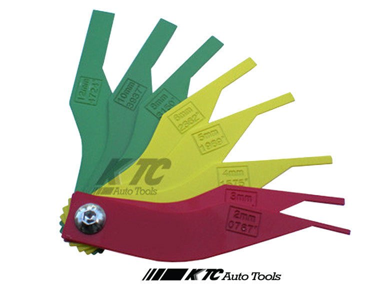 Brake Pad Feeler Lining Thickness Gauge Tool
