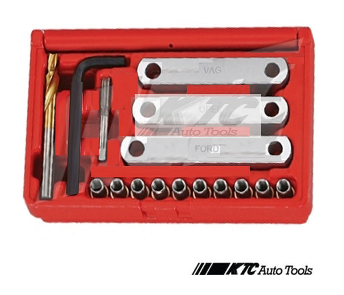 FORD, OPEL, VW, AUDI. BRAKE CALLIPER GUIDANCE THREAD REPAIR SET