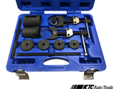 BMW (E81-E93) Subframe Lower Track Control Arm Bushing Removal / Installation Tool Kit