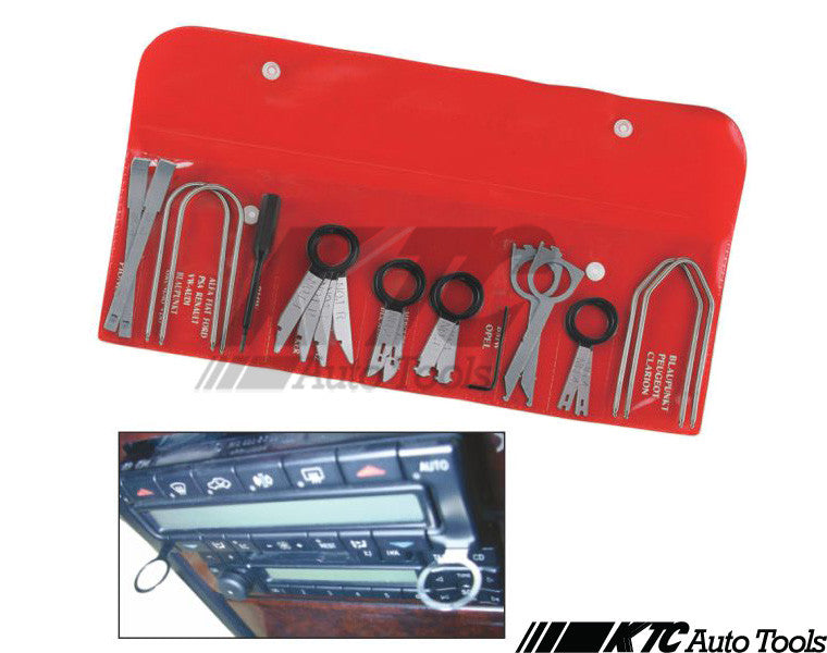 20pcs Porsche Mercedes BMW Audi Radio Removal Tool Kit