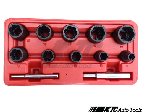 12 PCS Twist Socket Set