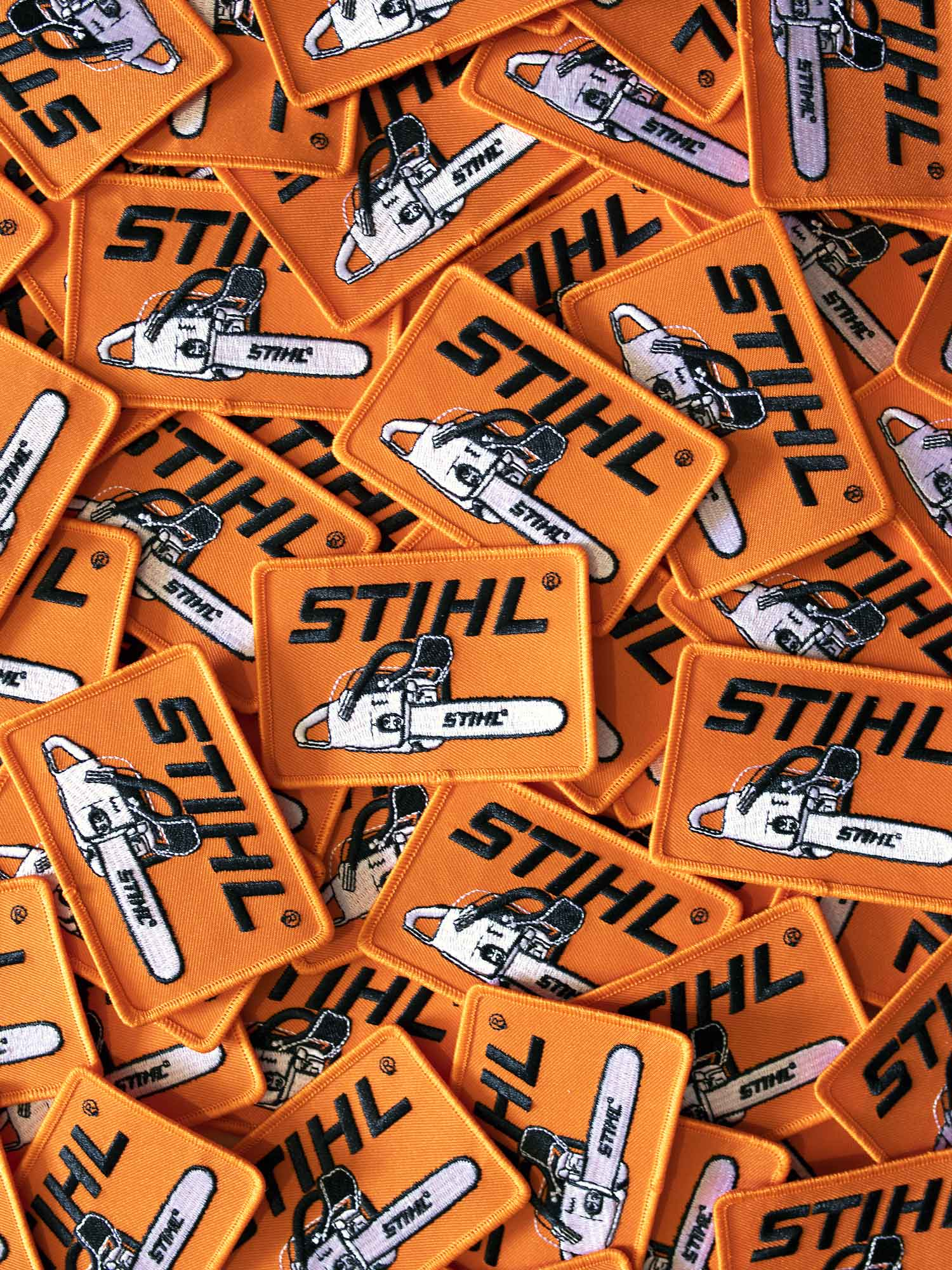 STIHL Iron on Patch