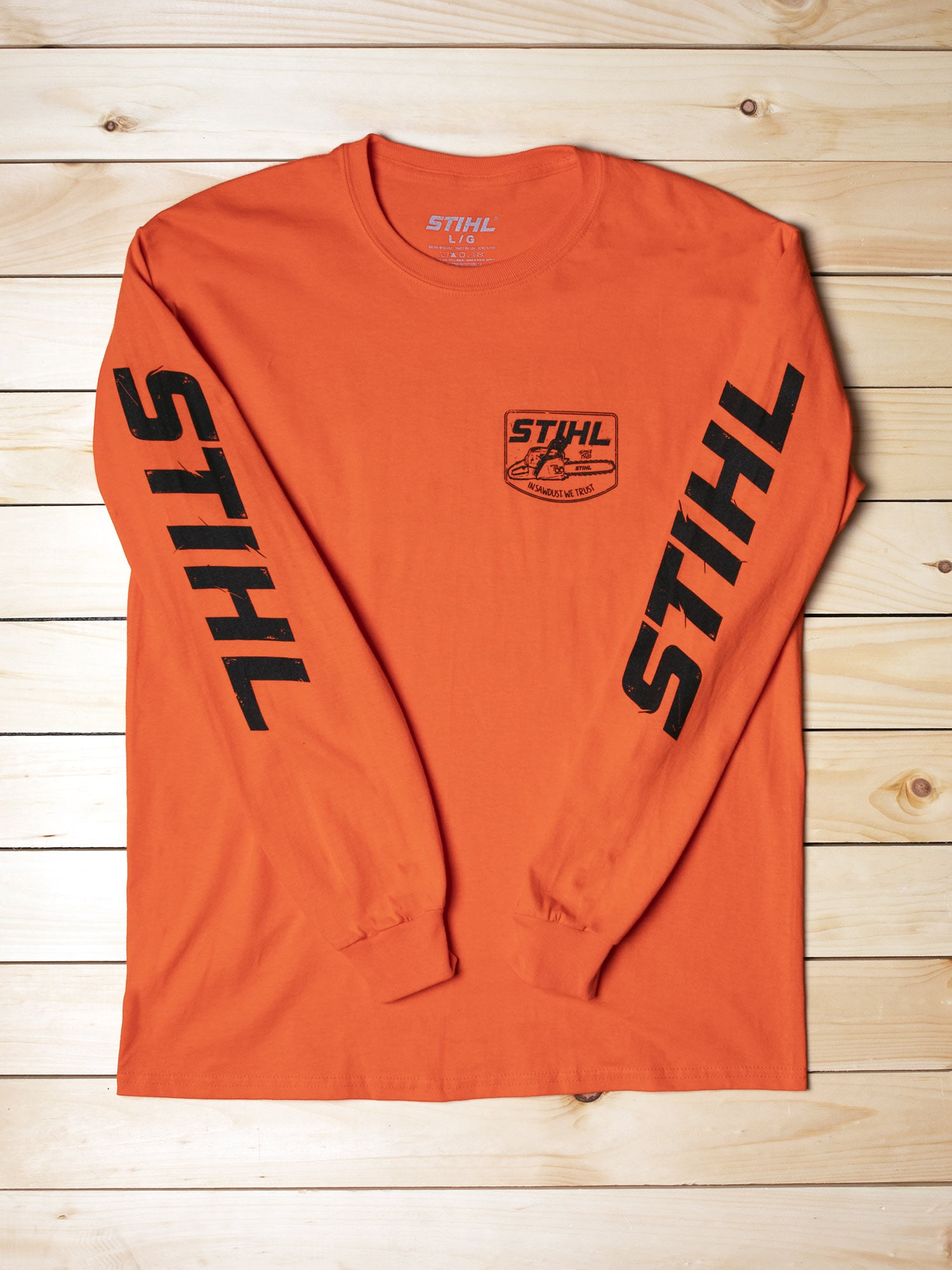 STIHL In Sawdust We Trust Long Sleeve Shirt
