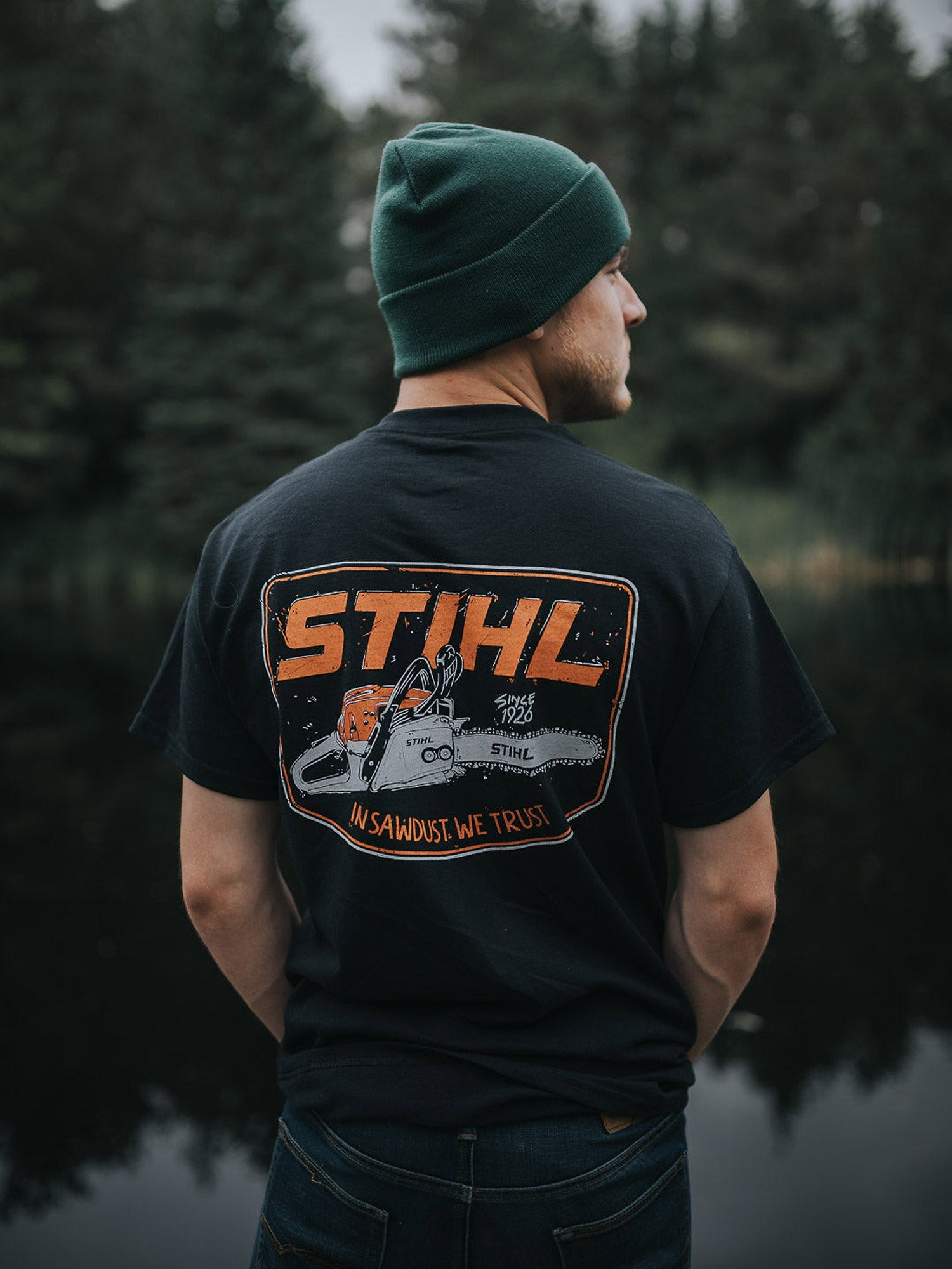 STIHL In Sawdust We Trust Shirt