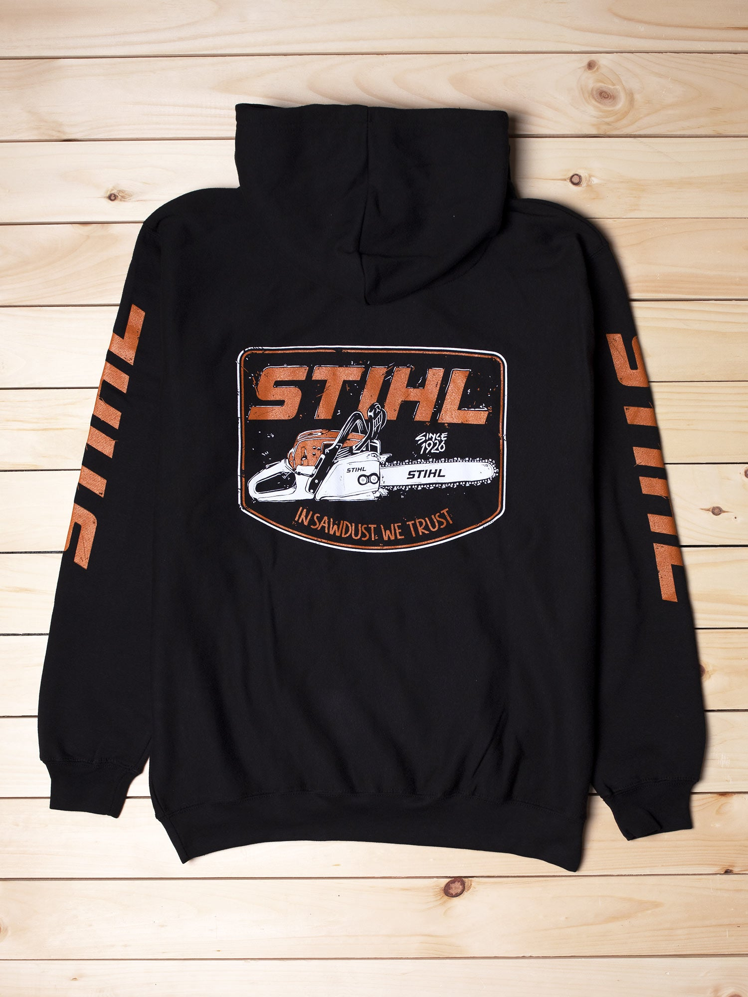 STIHL In Sawdust We Trust Hooded Sweatshirt