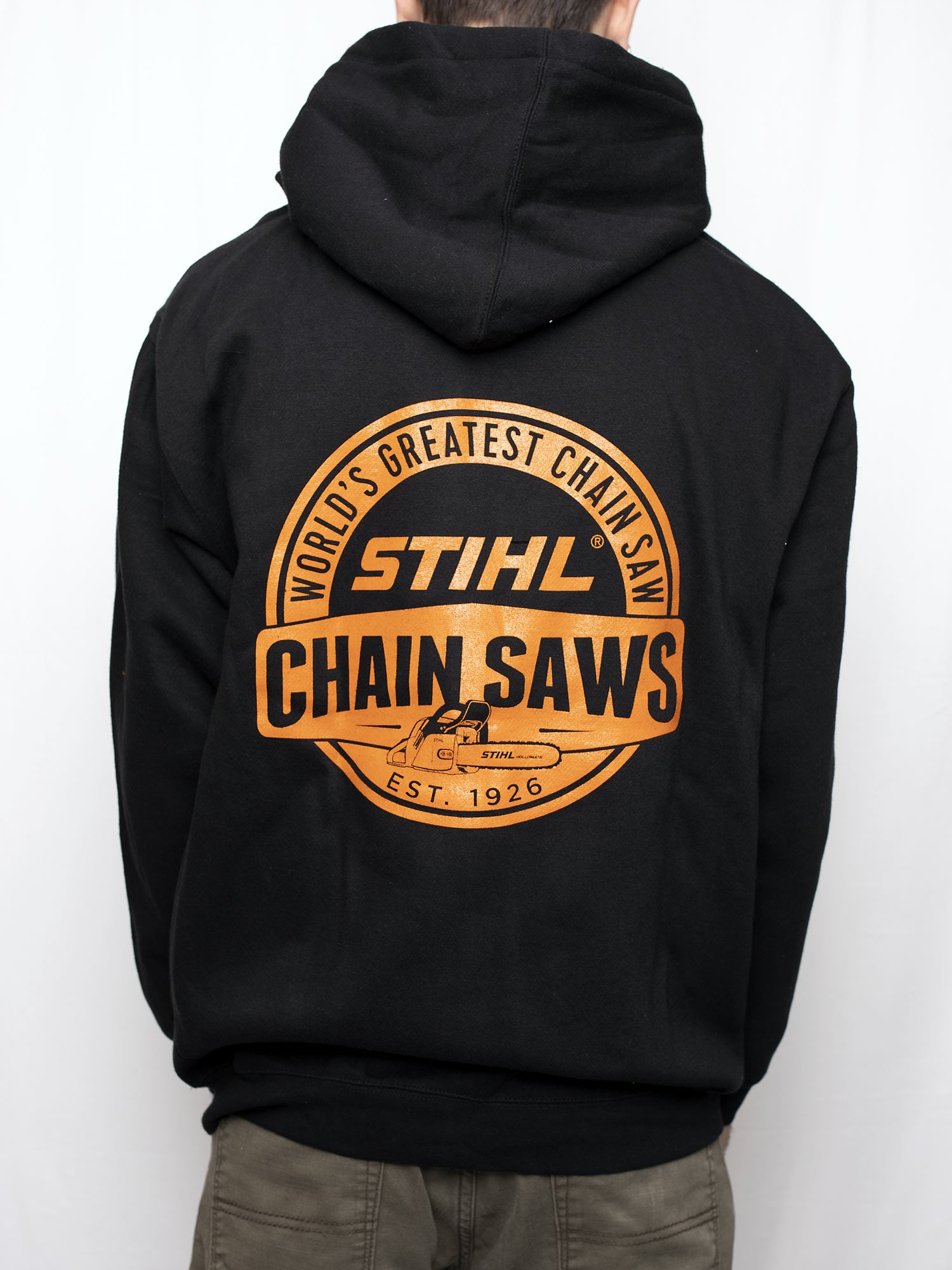 STIHL CHAIN SAWS ZIP HOODED SWEATSHIRT