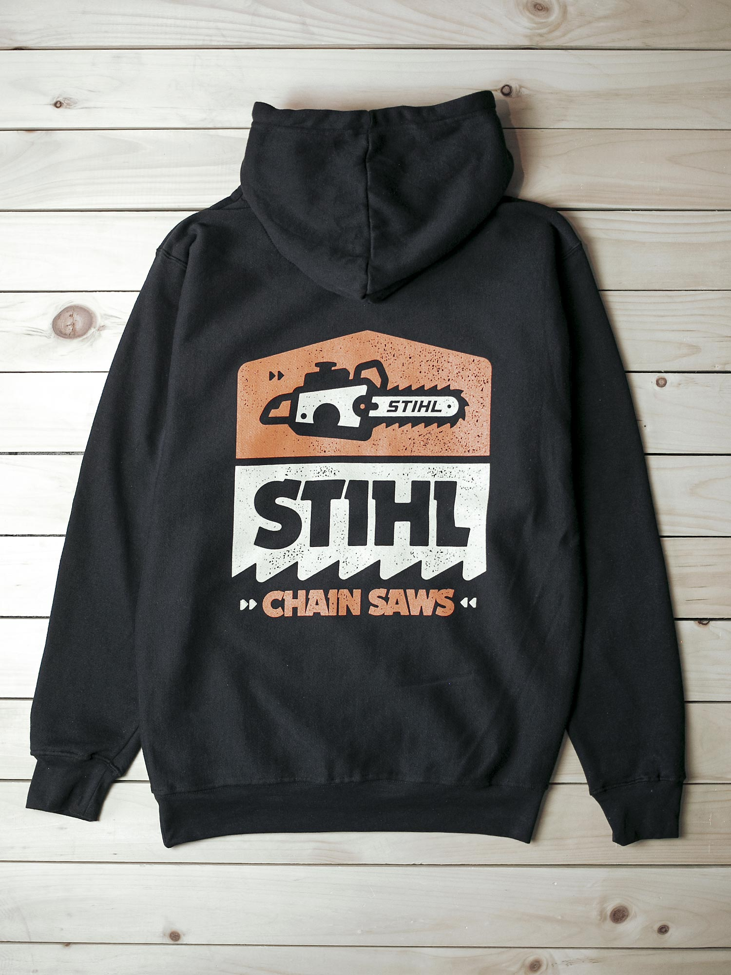 STIHL PULLOVER HOODED SWEATSHIRT