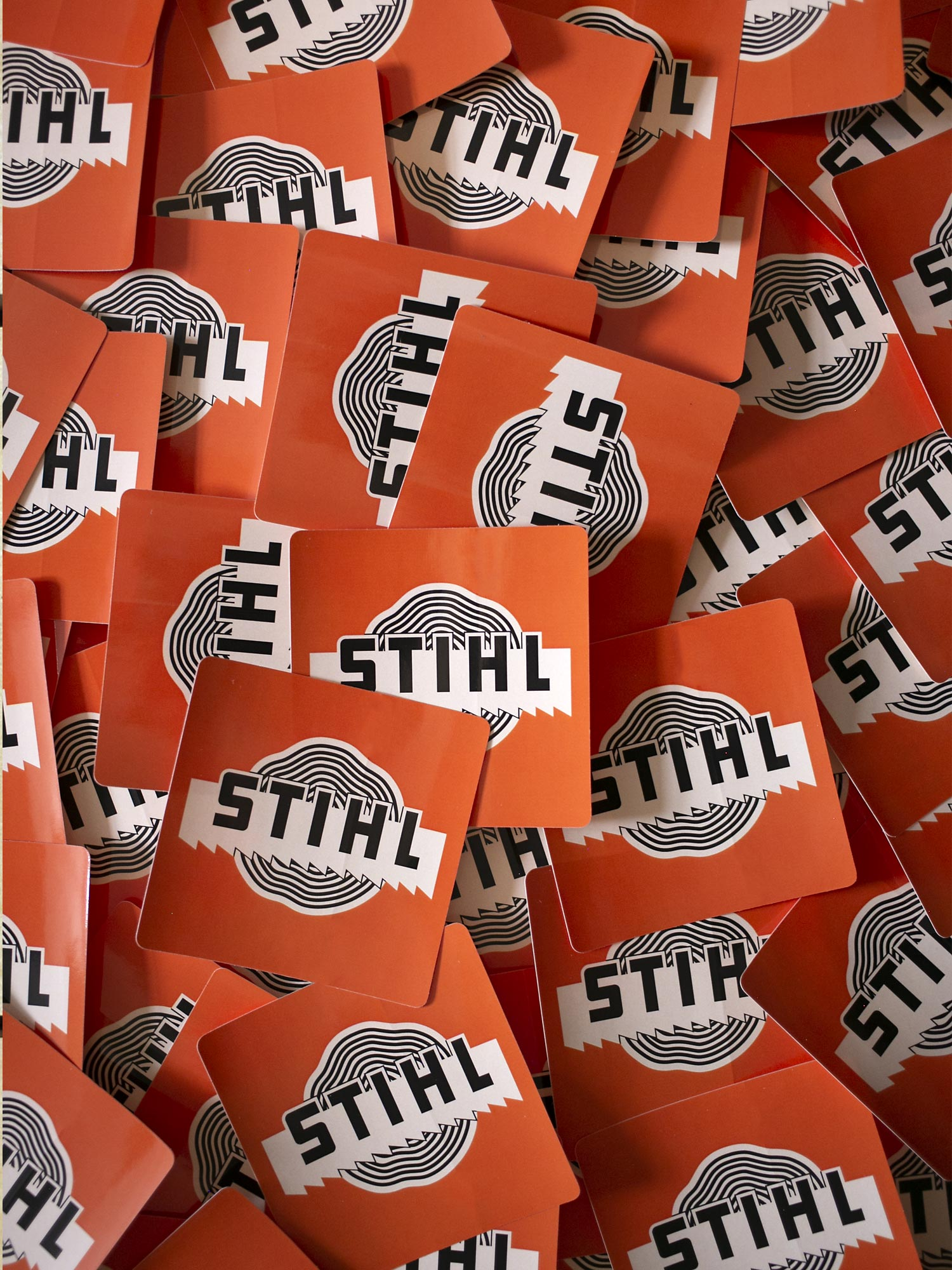 STIHL Saw Blade Vinyl Decal