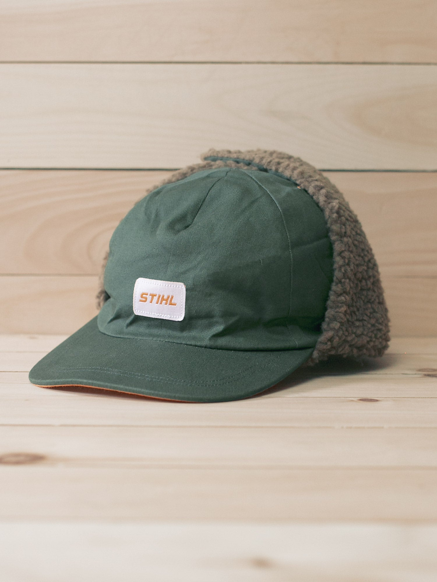 STIHL Lined Winter Hat With Ear Flaps