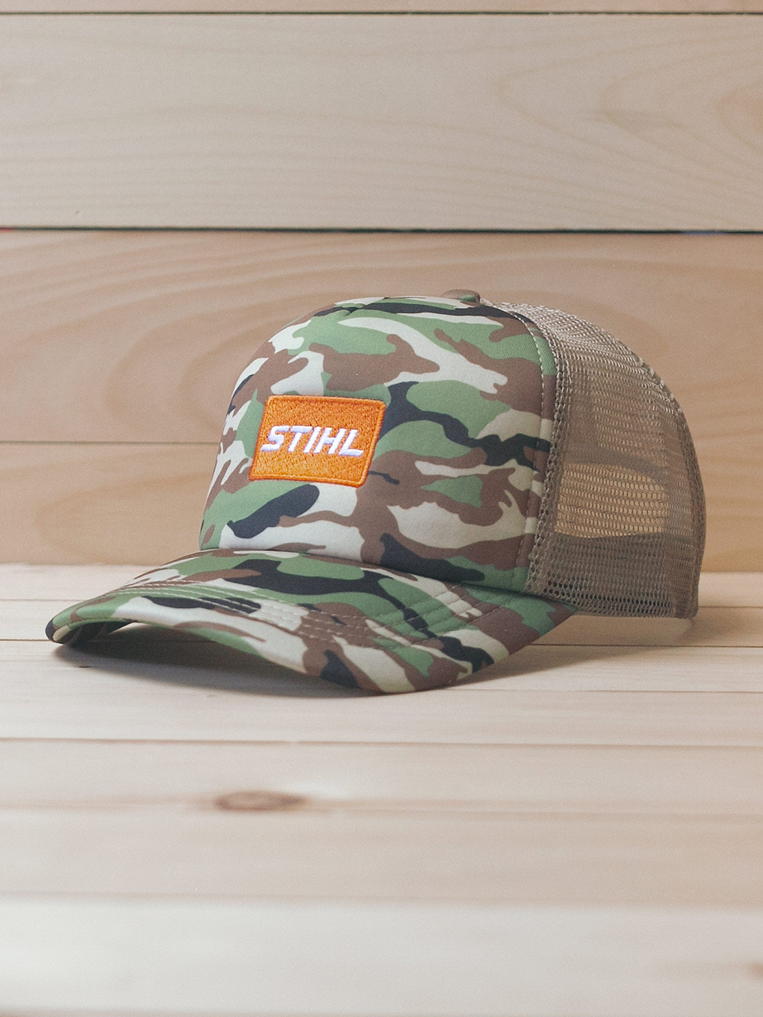 STIHL Camo Foam Trucker Hat