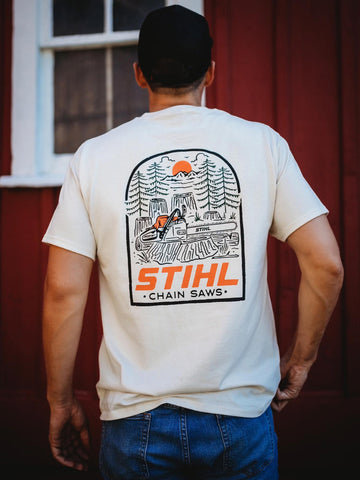 Shirt Into The Woods STIHL