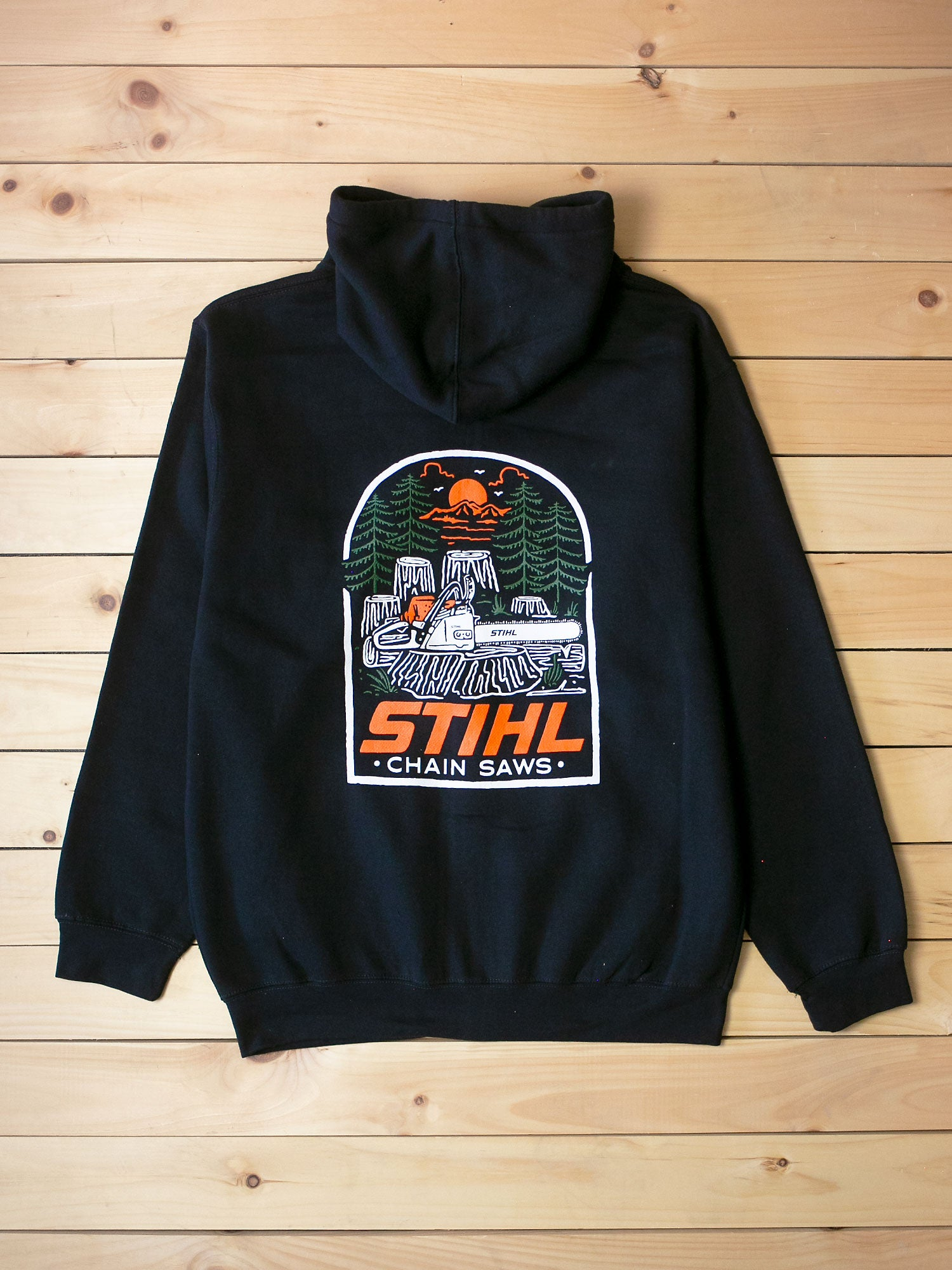 STIHL Into The Woods Zip Hooded Sweatshirt