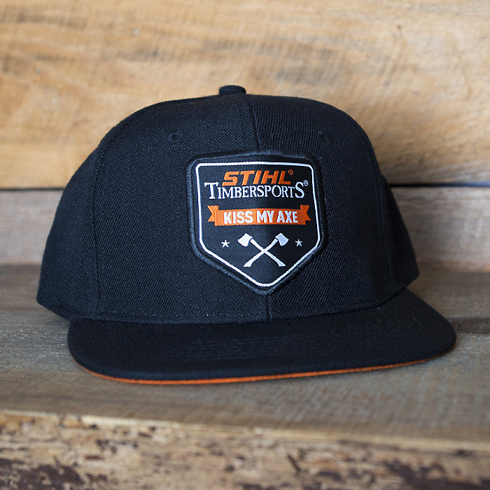 "CASQUETTE STIHL TIMBERSPORTS ""KISS MY AXE"""