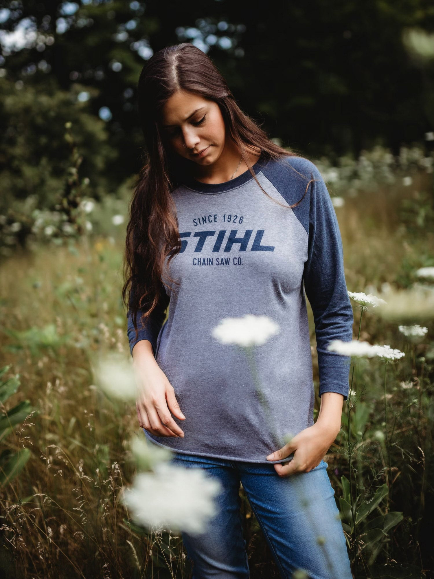 Ladies STIHL Raglan Sleeve Shirt